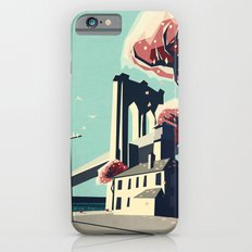 A pretty day at the brooklyn bridge iPhone 6s Slim Case