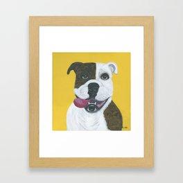 """Happy Go Lucky"" Framed Art Print"