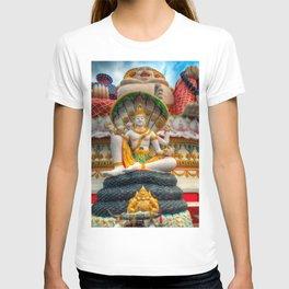 Lord Vishnu Thailand Temple T-shirt