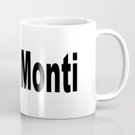 Riggo Monti Design #5 - Riggo Monti (Simple Text) Coffee Mug
