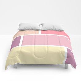 Big blocks soft colors Comforters