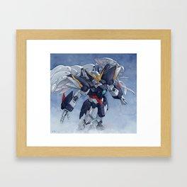 Gundam wing Zero cut ver. Framed Art Print