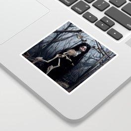 Wendigo in the Woods Sticker