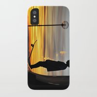 peter pan iPhone & iPod Cases featuring Peter Pan by Marco Ferraro