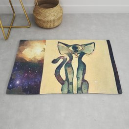 Cosmic Kitty Rug