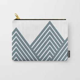 Geometric Mountain Carry-All Pouch