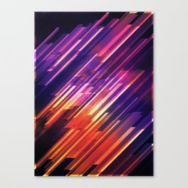 PONG - Pattern Canvas Print