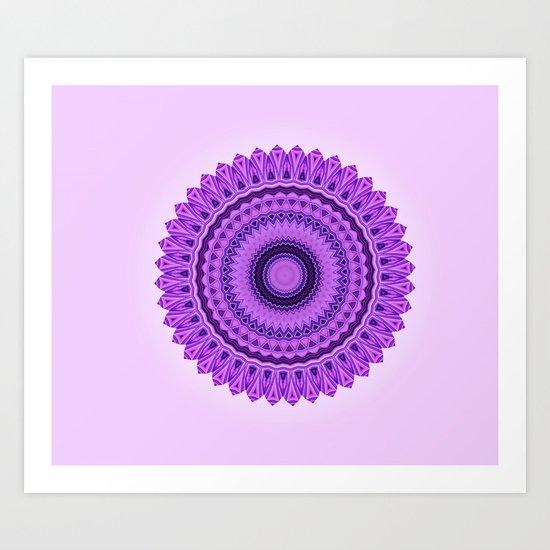 Magic Mandala Art Print