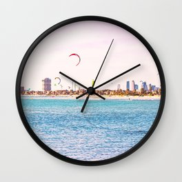 Windsurfing at St Kilda Wall Clock