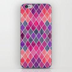Watercolor Geometric Pattern iPhone & iPod Skin