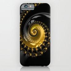 Fractal Shell Black Gold Slim Case iPhone 6