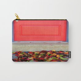 Leaves and Door Carry-All Pouch