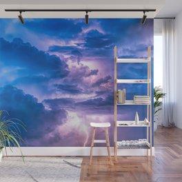 When Lightning Strikes Wall Mural