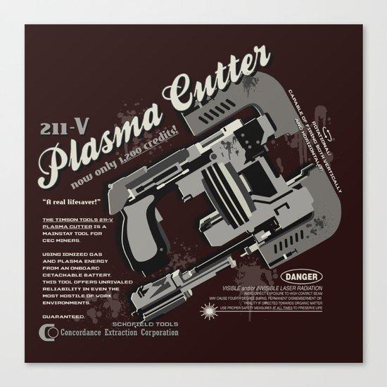 Dead Space - Plasma Cutter Canvas Print