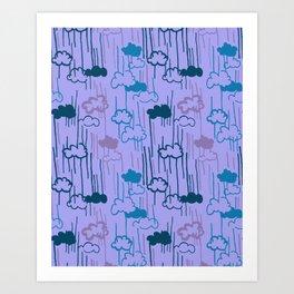Lovely Rain Art Print