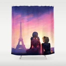 Miraculous Shower Curtain