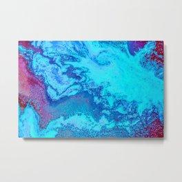 Deep Blue Trench Metal Print