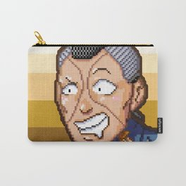 JJBA - Okuyasu Nijimura Pixel Art Carry-All Pouch