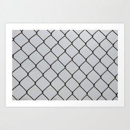 Chain Links Art Print