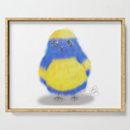 Oiseau bleu Serving Tray