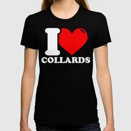 Collard Lover Gifts - I love Collards T-shirt