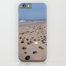 Shiney Stoney Beach - Nairn Scotland - Stones Slim Case iPhone 6s