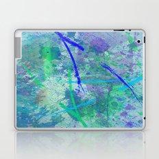 Aquatic Abstract - Blue and Green Laptop & iPad Skin