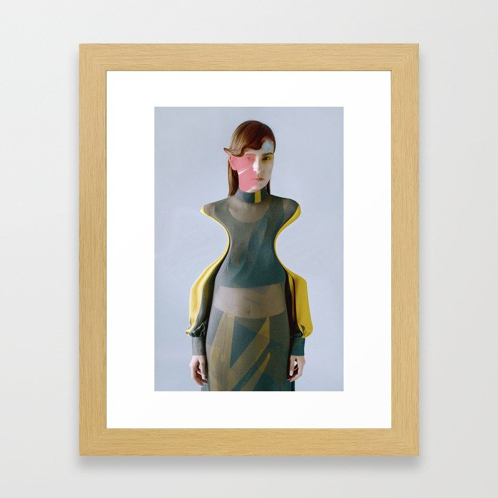 Collaboration with BooPala!! Framed Art Print