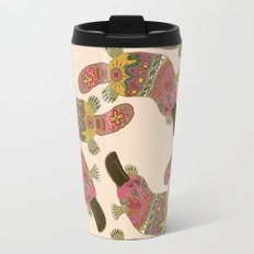 duck-billed platypus linen Travel Mug
