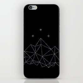 The Night Court insignia from A Court of Frost and Starlight iPhone Skin
