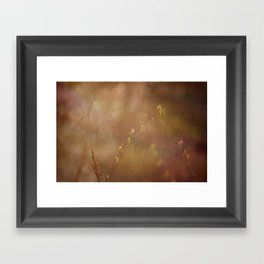 New Leaves Framed Art Print