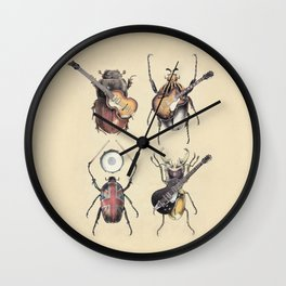 Meet the Beetles Wall Clock