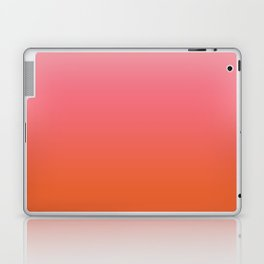 Pink and Orange Ombre Laptop & iPad Skin