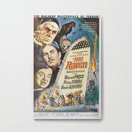 Vintage poster - The Raven Metal Print