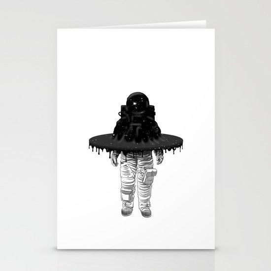 Through the Black Hole Stationery Cards