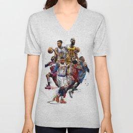 NBA 2k18 Unisex V-Neck