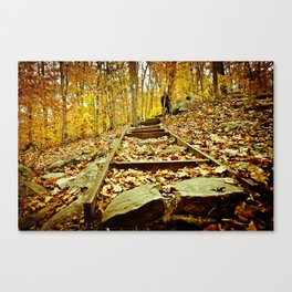 Once Upon an October Canvas Print