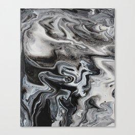 Marble Swirl Canvas Print