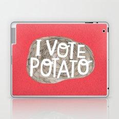 I VOTE POTATO Laptop & iPad Skin