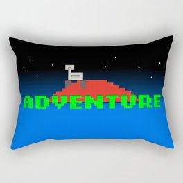 8-Bit Adventure On Mars Rectangular Pillow