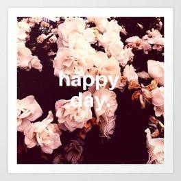 Happy Day Art Print