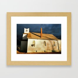 Mt of Olives Church Framed Art Print