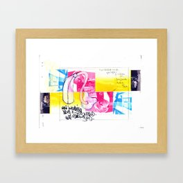 greatest drug ever. Framed Art Print