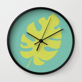 Botanical #3 Wall Clock