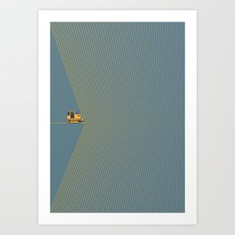 Marvin Heemeyer Art Print