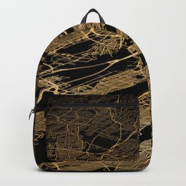 New York map Backpack