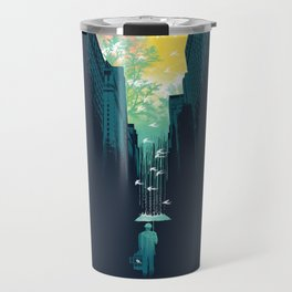 I Want My Blue Sky Travel Mug