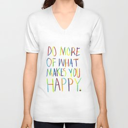 Positive Quote Unisex V-Neck