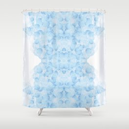 Cloudy judgment Shower Curtain