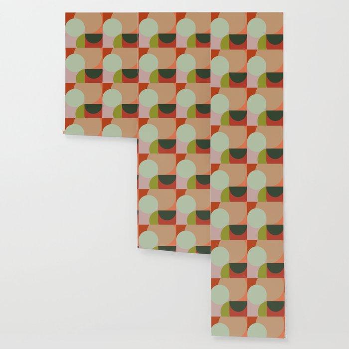 Abstract Geometric 2 #fallwinter #colortrend #decor Wallpaper